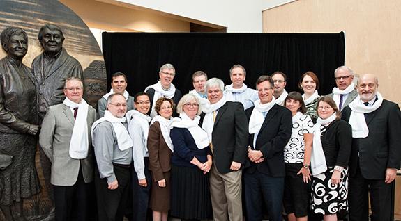 Escarpment Cancer Research Institute team