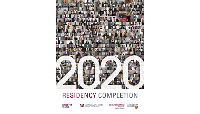The Postgraduate Medical Education (PGME) program created a yearbook to celebrate the completion of training for more than 300 residents and fellows.