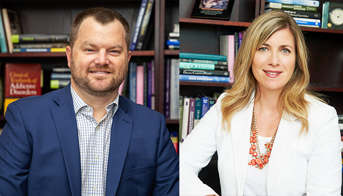 Michael Amlung, lead author of the study, assistant professor of psychiatry and behavioural neurosciences at McMaster University and Randi McCabe, co-author of the paper, professor of psychiatry and behavioural neurosciences at McMaster.
