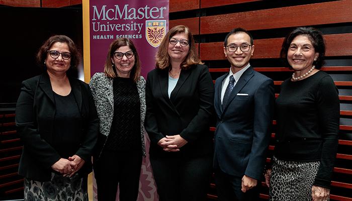 Charu Kaushic, Filomena Tassi, Sharon Kaasalainen, Hsien Seow and Susan Denburg.