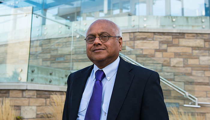 Salim Yusuf, executive director of PHRI and a professor of medicine of McMaster's Michael G. DeGroote School of Medicine