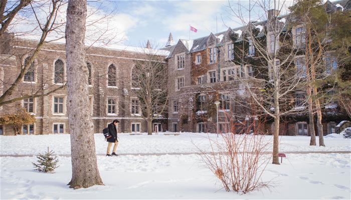 McMaster Building (Winter)