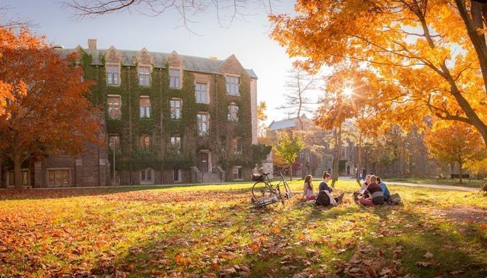 McMaster Campus (Fall)