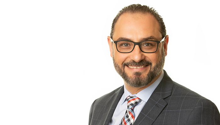 Khalid Azzam has been appointed the inaugural associate dean of Continuing Professional Development for the Faculty of Health Sciences.
