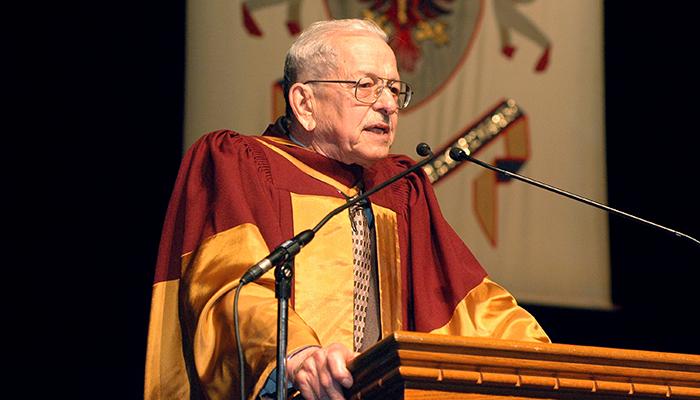 Ronald Bayne speaks at McMaster convocation 2006
