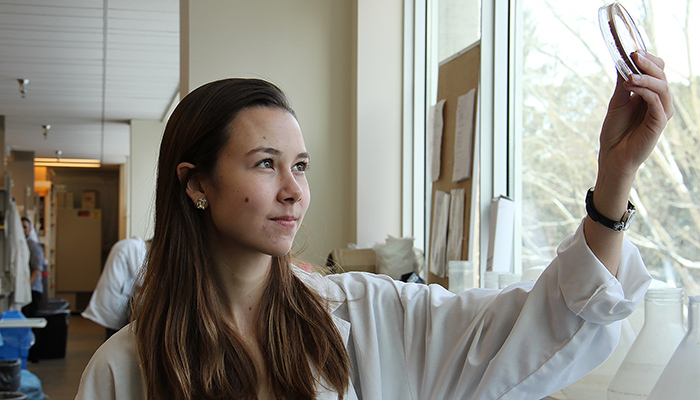 Beth Culp is a PhD candidate in biochemistry and biomedical sciences at McMaster University