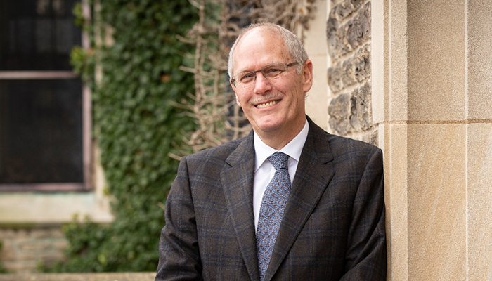 David Farrar, McMaster University's president