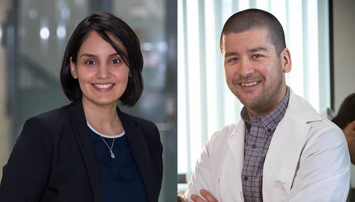 Zeinab Hosseini-Doust and Jeremy Hirota