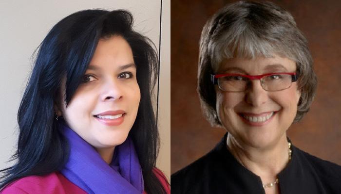Gina Agarwal and Cheryl Levitt
