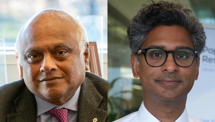 Salim Yusuf and Philip Joseph (Populations Health Research Institute)
