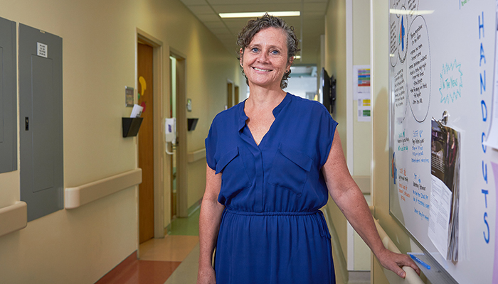 Katherine Morrison is a professor of pediatrics at McMaster, co-director of its Centre for Metabolism, Obesity and Diabetes Research, and a pediatric endocrinologist at McMaster Children's Hospital.