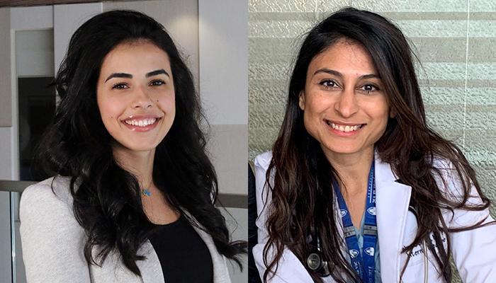 Leen Naji and Zahra Sohani