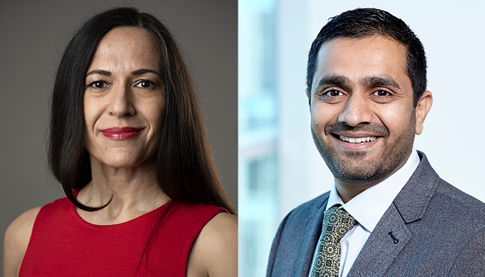 Sheila Singh is a professor in of surgery at McMaster and Parvez Vora is a former postdoctoral fellow in the Singh lab.