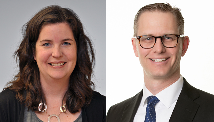 Jennifer Couturier and Ryan Van Lieshout are both associate professors of psychiatry and behavioural neurosciences in the Faculty of Health Sciences.