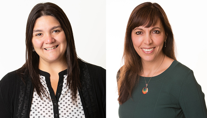 Maria Ines Pinto-Sanchez, left, and Elena Verdu are scientists in the Farncombe Family Digestive Health Research Institute at McMaster University.