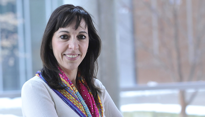 Elena Verdu, director of the Axenic Gnotobiotic Unit in the Farncombe Family Digestive Health Research Institute