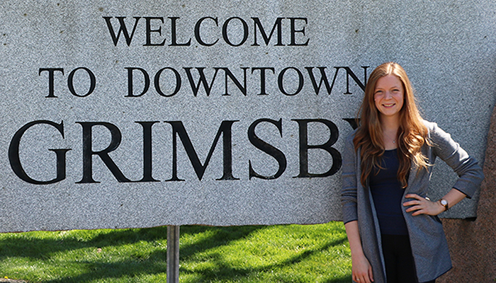 Christina Weber is staying at McMaster's Niagara Regional Campus for her rural family medicine residency in her hometown of Grimsby.
