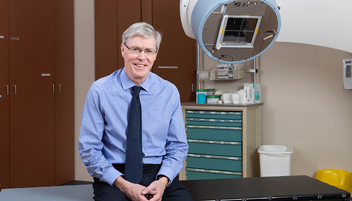 Timothy Whelan is internationally renowned for his clinical research in radiation therapy for breast cancer.