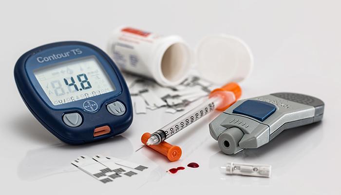 Diabetes testing supplies and medication