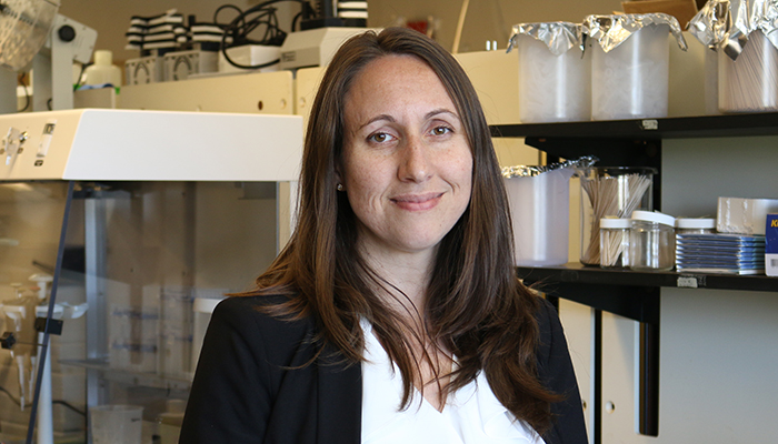 Jennifer Stearns of the McMaster University's Farncombe Family Digestive Health Research Institute.