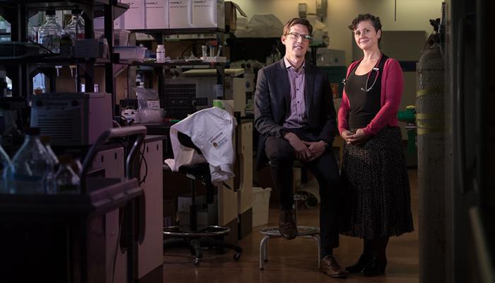 katherine morrison and Greg Steinburg