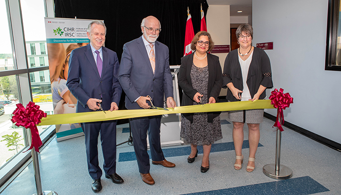 CIHR Ribbon Cutting