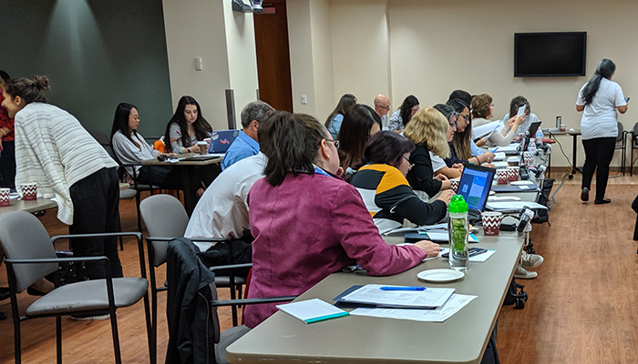 A three-day workshop brought together Indigenous researchers and non-Indigenous academics to learn to analyze study data.