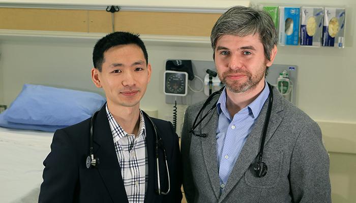 Derek Chu & David McCullagh