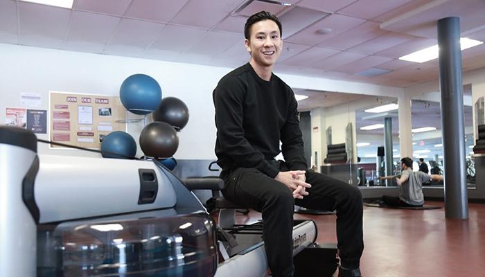 Cameron Siou, graduate of the Health Leadership Academy