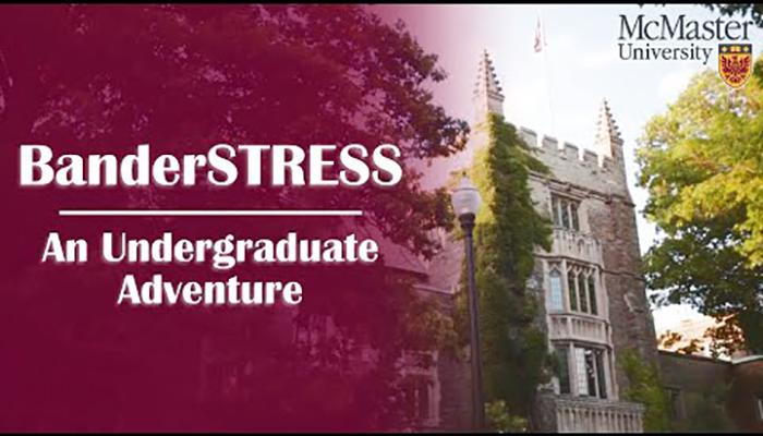 BanderSTRESS: An undergraduate adventure