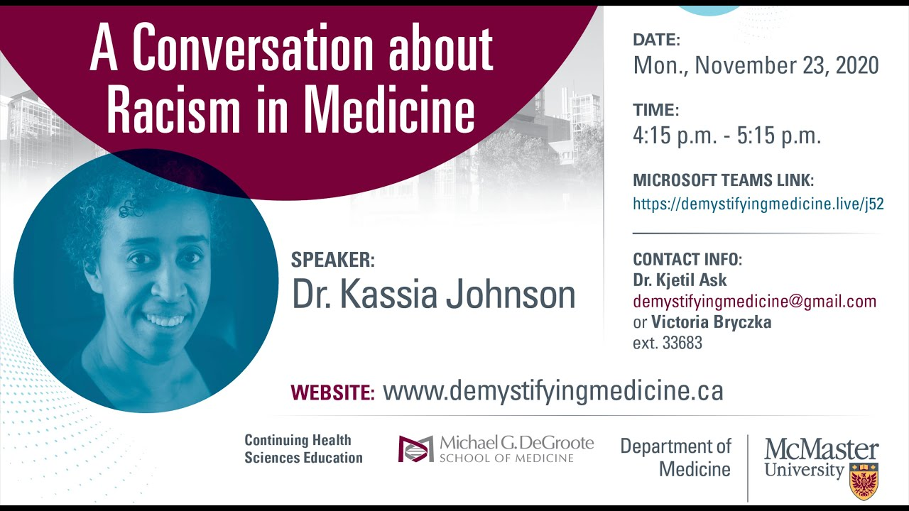 A Conversation about Racism in Medicine