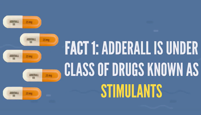 Adderall is classified as stimulant