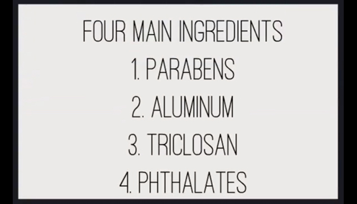 Antiperspirant ingredients