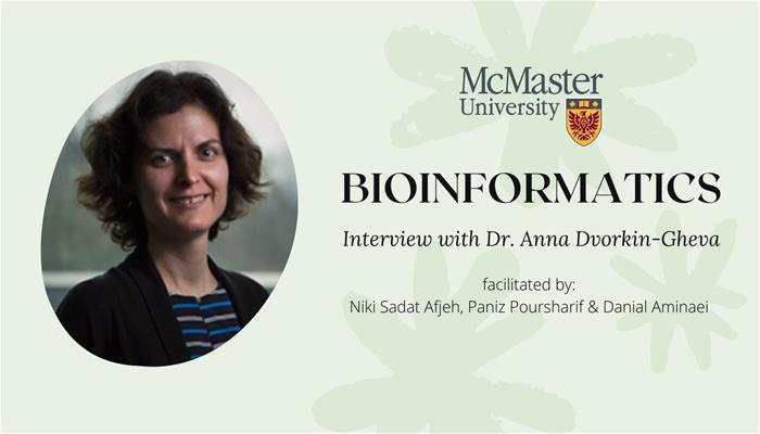 Bioinformatics Interview with Dr. Dvorkin-Gheva