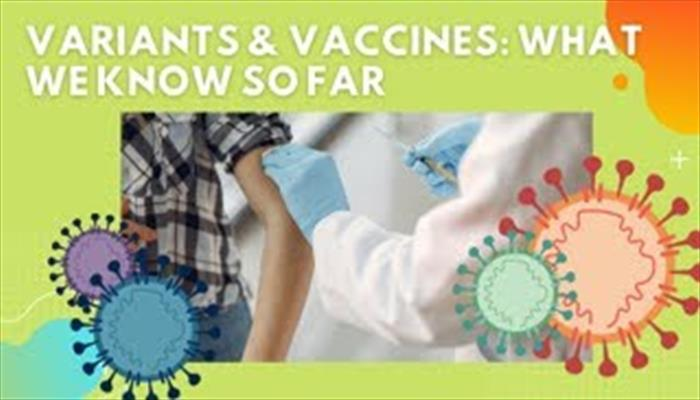 COVID-19 Variants and Vaccine What We Know So Far