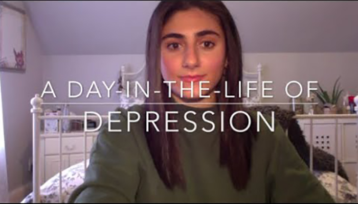 Day in life of depression