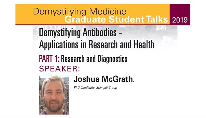 Demystifying Antibodies - Applications in Research and Health - Part 1