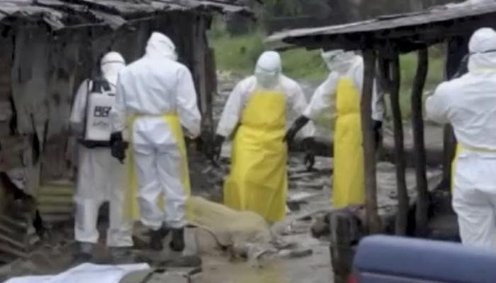 Ebola virus workers