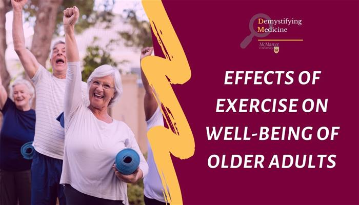 Effects of Exercise on Well-being of Older Adults
