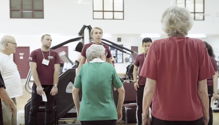 Exercise and balance in seniors