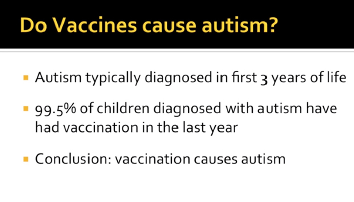 Science regarding vaccinations