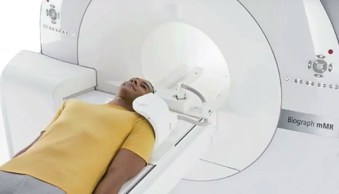 MRI and patient