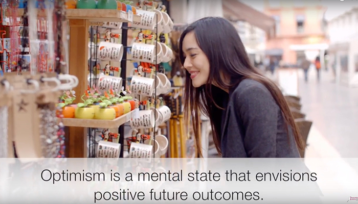 Optimism is a mental state that envisions positive future outcomes
