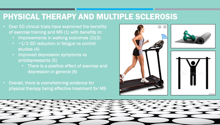 Physical therapy and multiple sclerosis