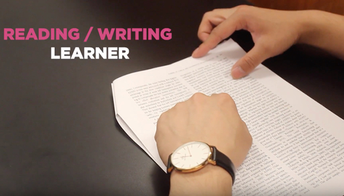 Reading-writing learner