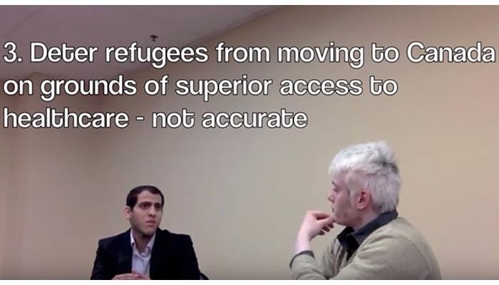 Refugee health care crisis