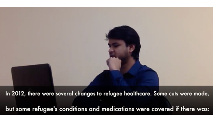 Refugee health care policy