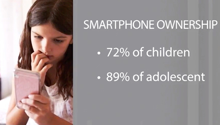 Smartphone ownership among children