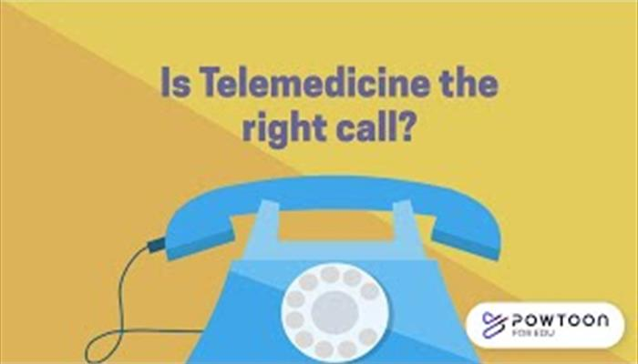 Telemedicine Is this the right call