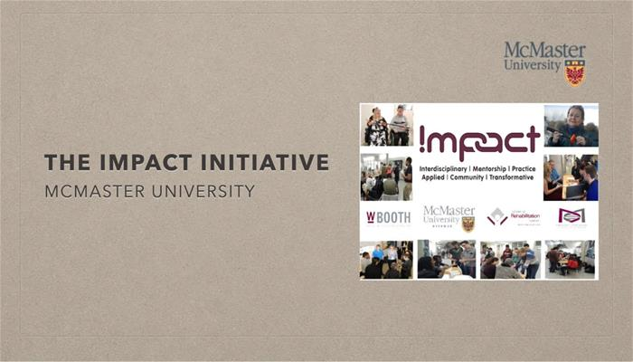 The IMPACT Initiative at McMaster University